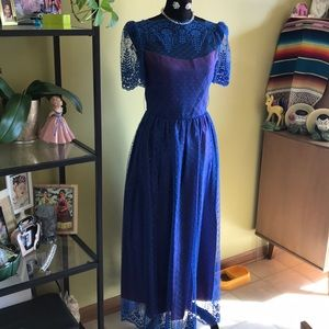 Dresses & Skirts - 💙Royal blue lace dress💙